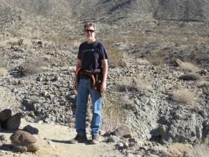 Rudy on a mountain hike