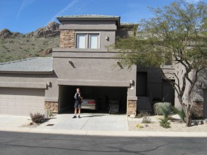 Dave and Marylou's rental home at Hidden Treasures Court in Gold Canyon, AZ.