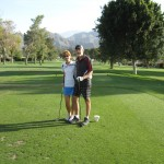 Rudy and Sue at Palm Desert Golf Club