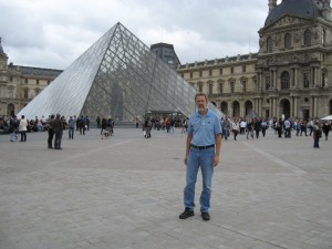October 4, visit to the Louvre Museum