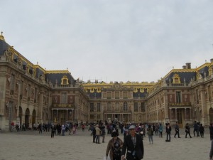 A day trip to Versailles - October 1, 2013