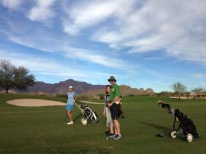 Golfing at Mountain Brook