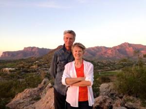 Ed & Millie on Vista Point