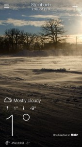 Weather in Steinbach