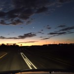 Driving to Windhoek