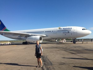 Air Namibia aircraft