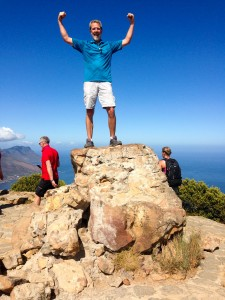 I won! I made it! I hiked up Lion's Head - Feb 25, 2016