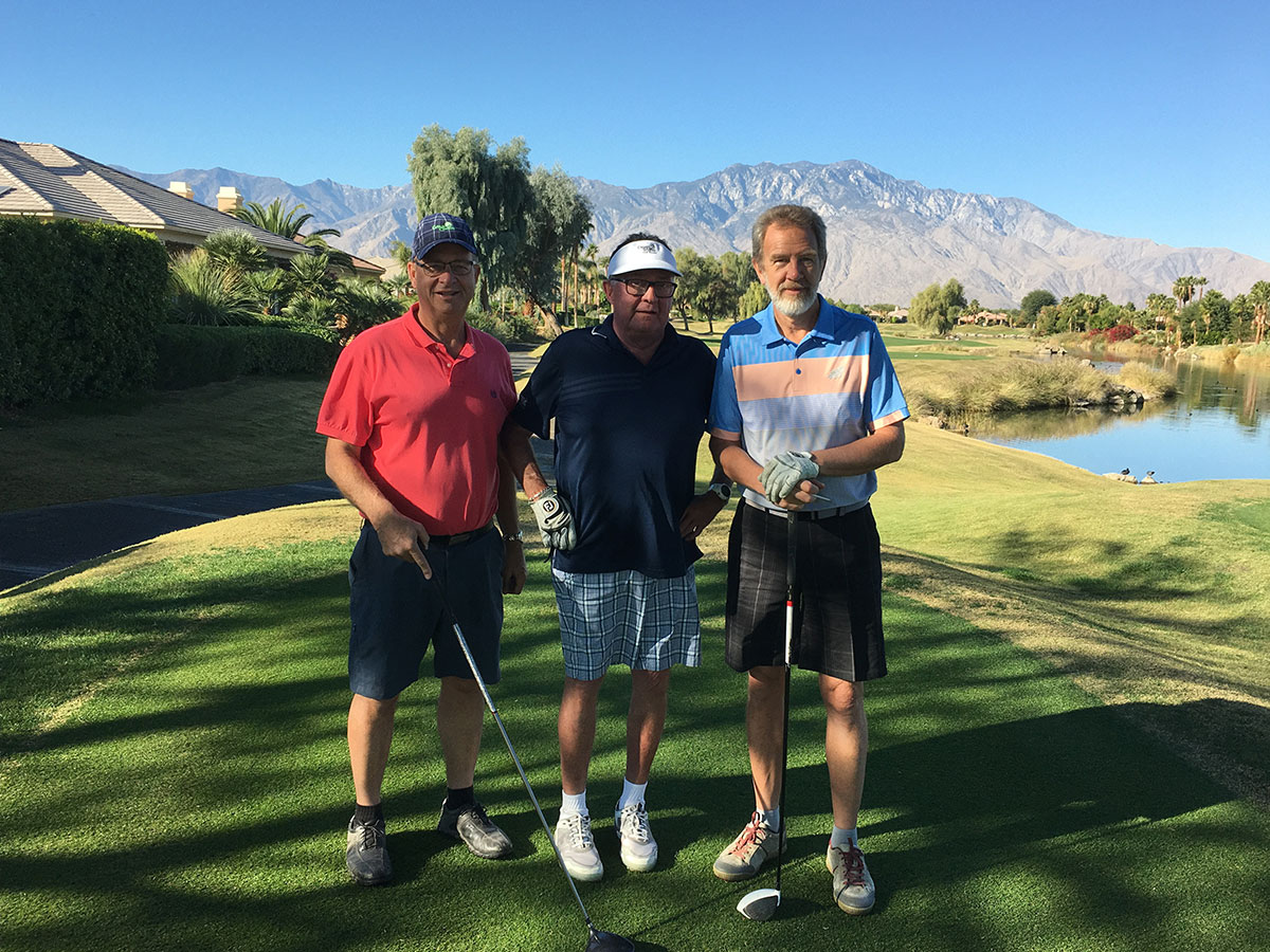 Ed, Darrel, and Rudy