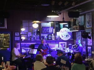 The band at Hal & Mal's in Jackson, Mississippi