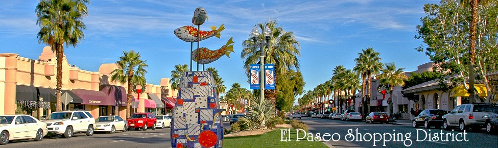 photo of El Paseo street