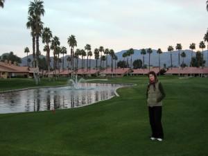 golf-walk-evening