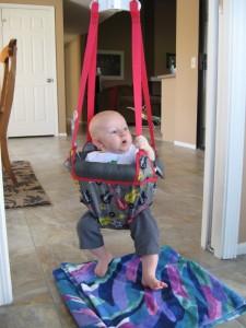 Max in Jolly Jumper