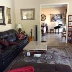 Rancho Mirage house - TV room