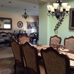 Rancho Mirage house - dining room