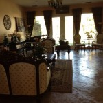 Rancho Mirage house - living room