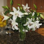 Our easter lilies