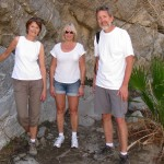 Hike with Sue, Bonny, Rudy