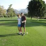 Rudy and Sue at Palm Desert Golf Club
