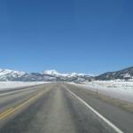 The highway in Utah