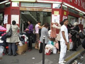 Saturday morning in Paris - at the Flea Market