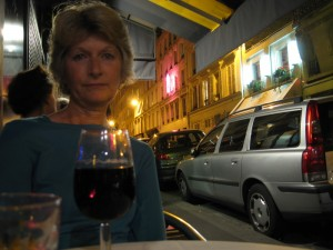 sue-at-evening-outdoor-cafe