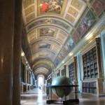 Beautiful hallway at Fontainebleau