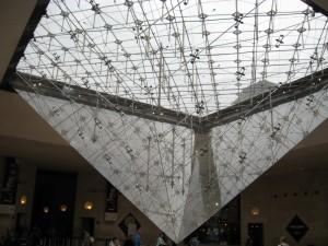 La Pyramide Inversée at the Carrousel du Louvre
