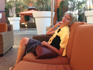 Sue at 63 at the Tempe Marketplace