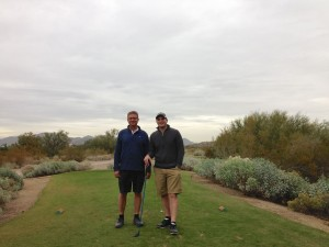 Ed and Lyle at Longbow