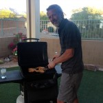 Rudy at the BBQ