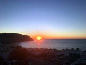 Sunrise on Praia da Luz